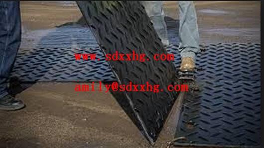 Heavy duty access mat ,Plastic portable roadway ,heavy equipment road mat