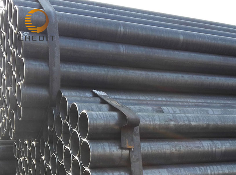 ASTM SCH40 ERW Steel Pipe For Construction BuildingERW Steel Pipe