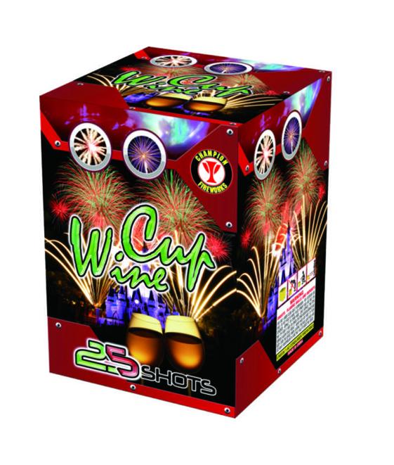 Cakes fireworks