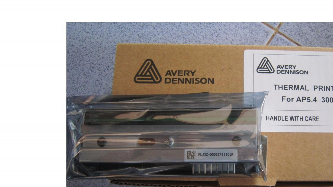 Printhead for Avery 6405/Chess 5/TTX 675 300dpi A0979