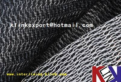 WEFT INSERT FUSIBLE INTERLINING FOR GARMENT 42gsm ---HOT