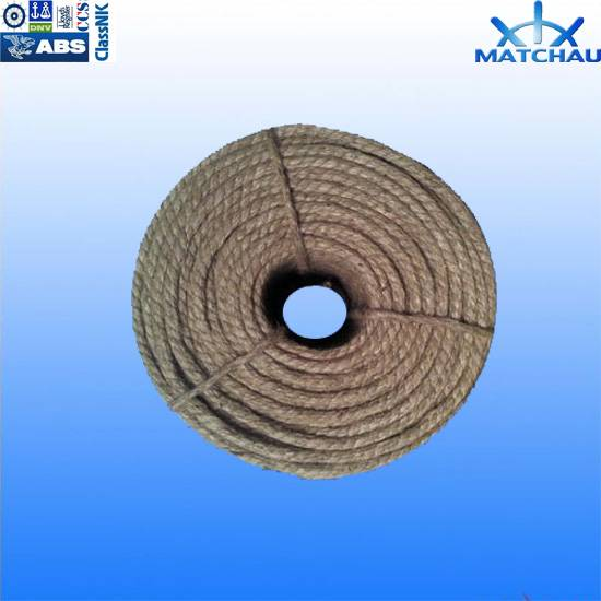 High Strength Twist 3-Strand Polypropylene Ropes