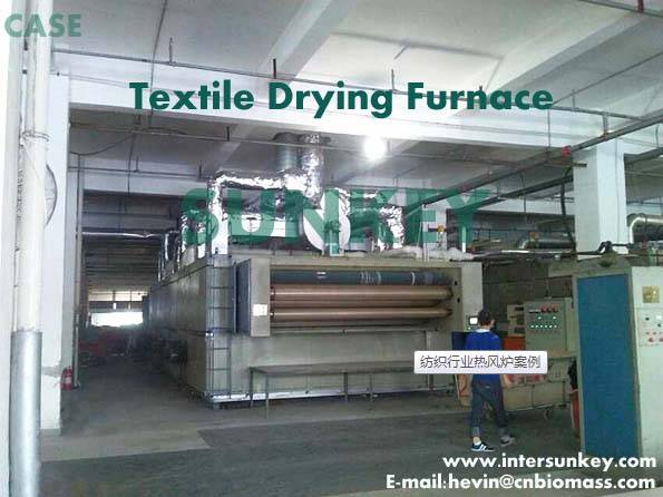 SUNKEY hot blast furnace widely used in industrial textile