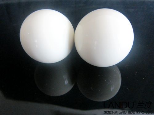High quality solid opal white color acrylic round balls