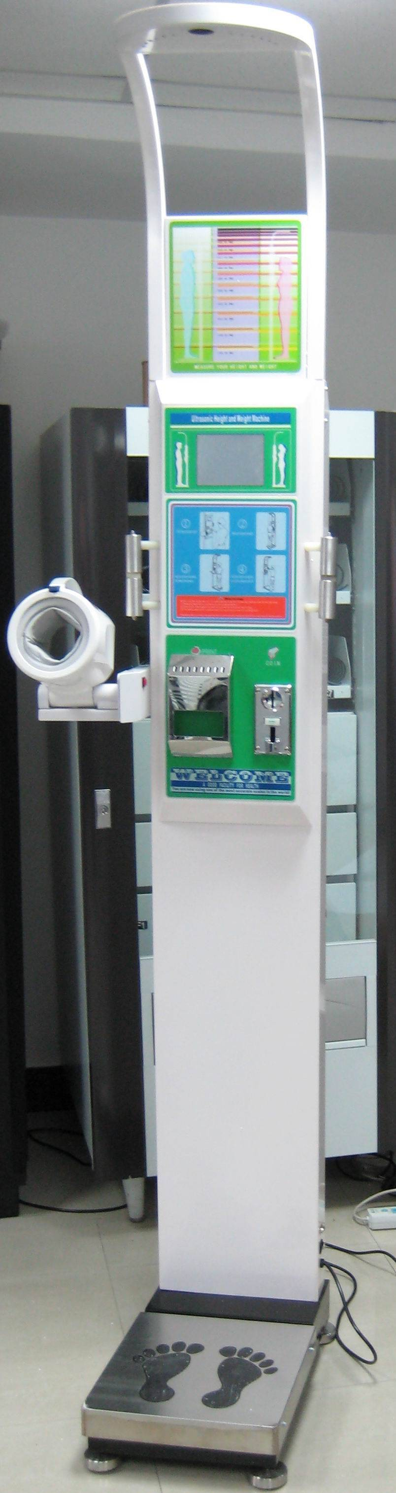 Coin-Operated Body Scale CVE-BS15A
