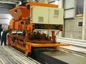 HOLLOW CORE SLAB MAKING MACHINE
