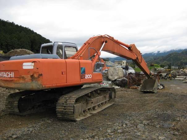 Used HITACHI EX60 EX100WD EX100WD-1 EX120 EX160WD EX160WD-3 EX200-1 EX200-2 Excavators