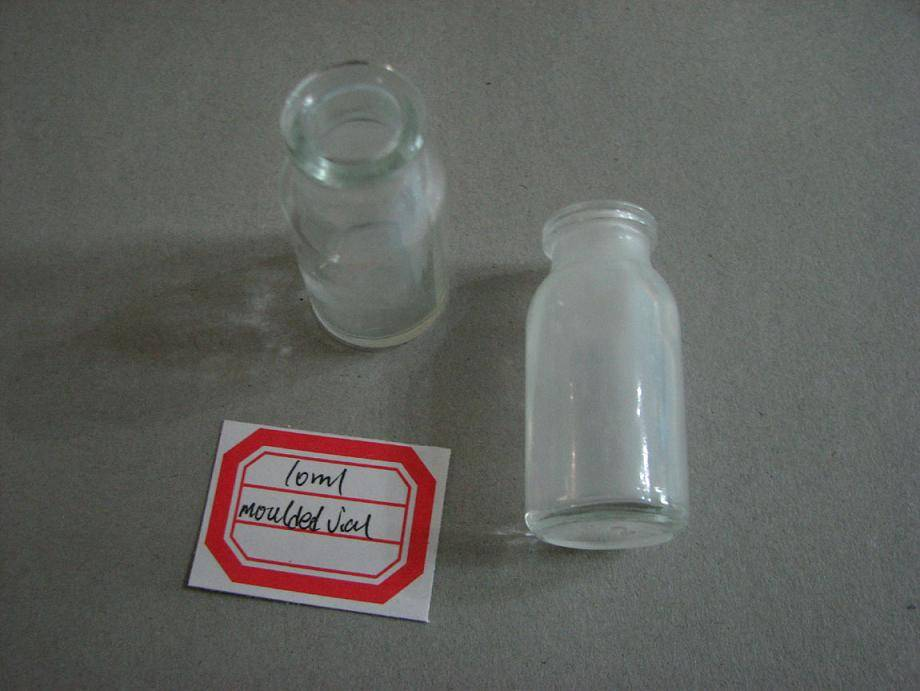 10ml moulded vial