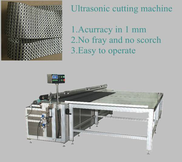 3.2m ultrasonic cutting machine for all fabric