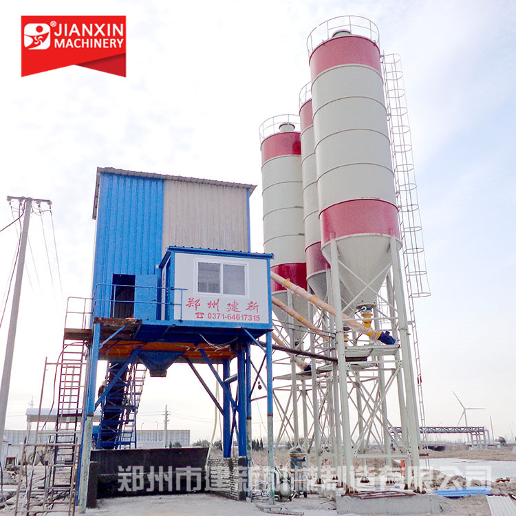 HZS series 60m3/h concrete batching plant price for sale