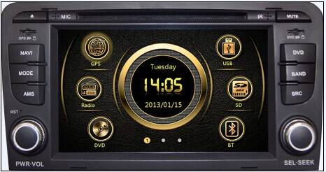 car dvd for Audi A3