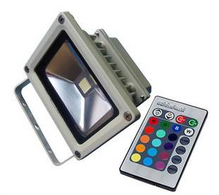 20W RGB LED Flood Light