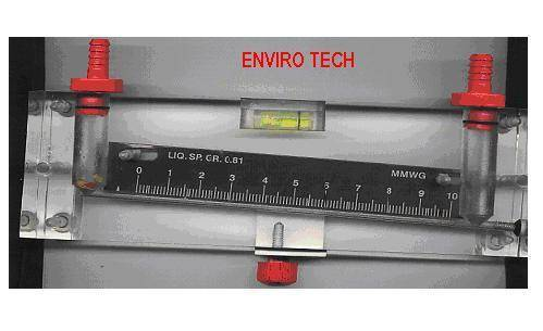 Acrylic Inclined Manometer