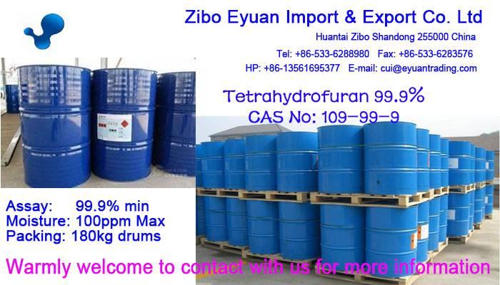 Tetrahydrofuran CAS no: 109-99-9