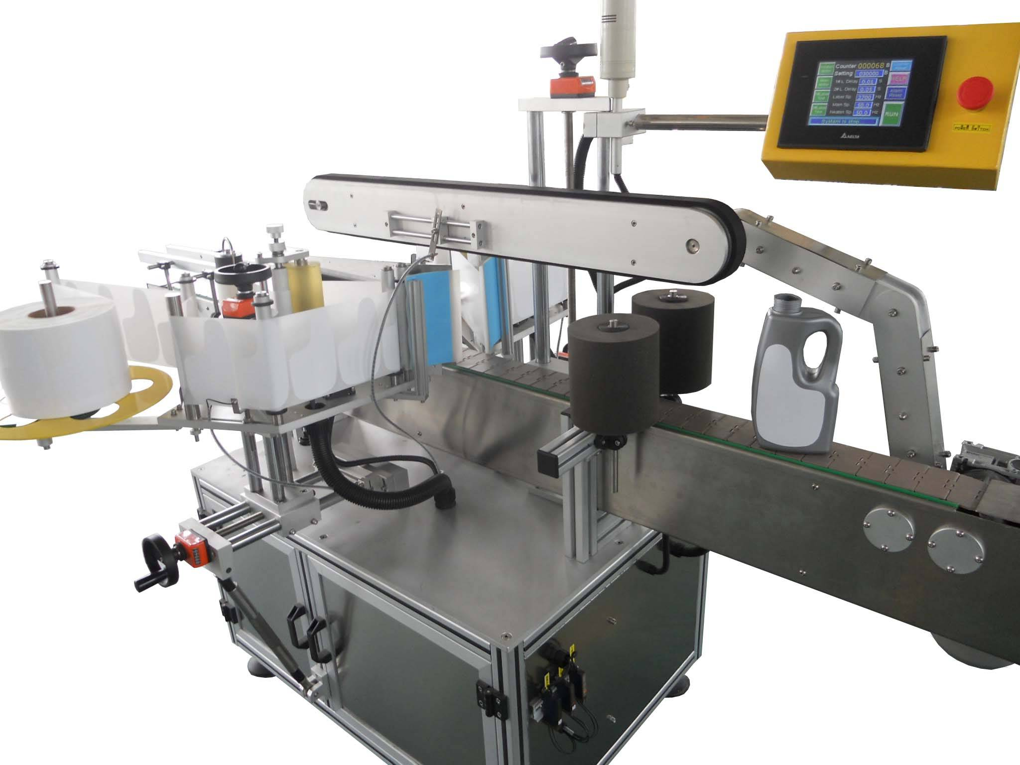 Two-Sides Adhesive Labeling Machine