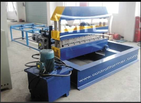 Hydraulic Roofing Crimping Curved Machine