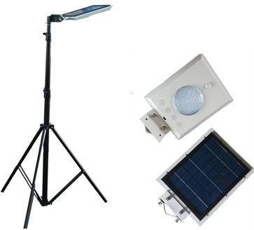 All in one Adjustable poles Solar Garden Light(5W)