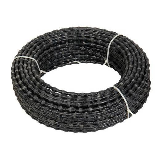 diamond beaded rope for marble block squaring