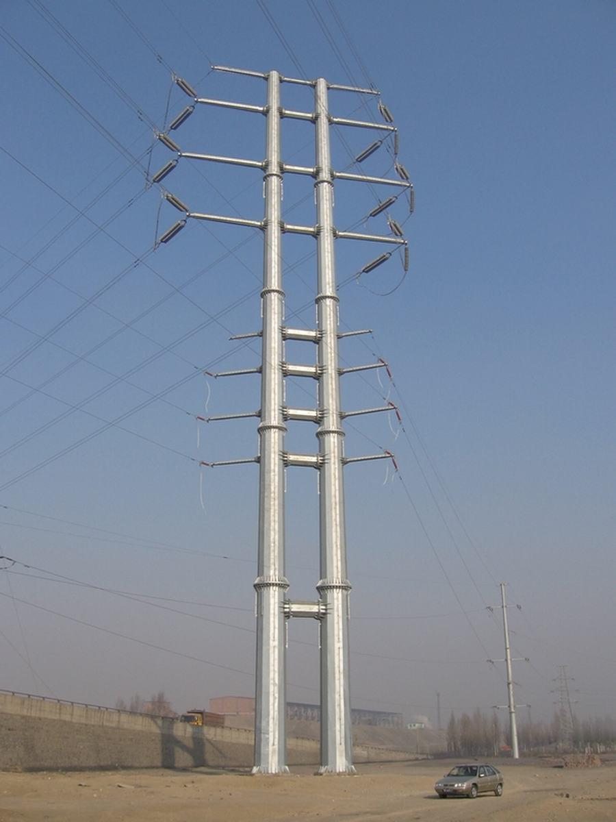 Double Circuit Utility Poles