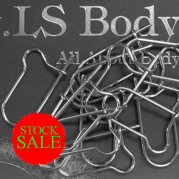 Stock Sale 316L SS Safety Pins