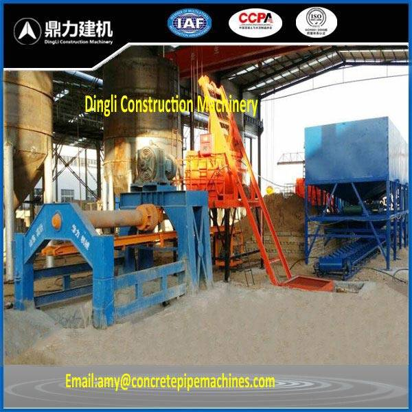 XG roller suspension cement pipe forming machine