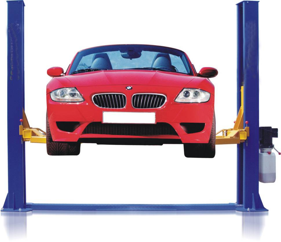 CE Two Post Floor Plate Car Lift