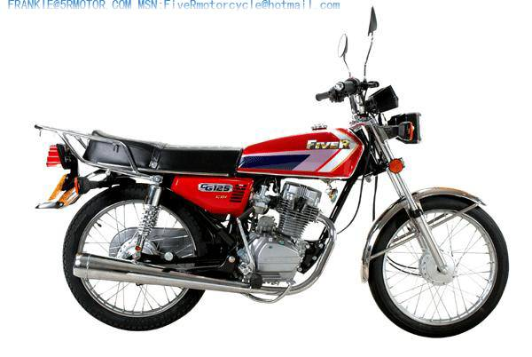 PROVIDE FIVE R MOTORCYCLE CG125