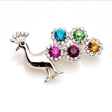 selling high fashion crystal brooch 59