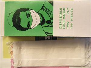 cheap hotting selling paper face mask
