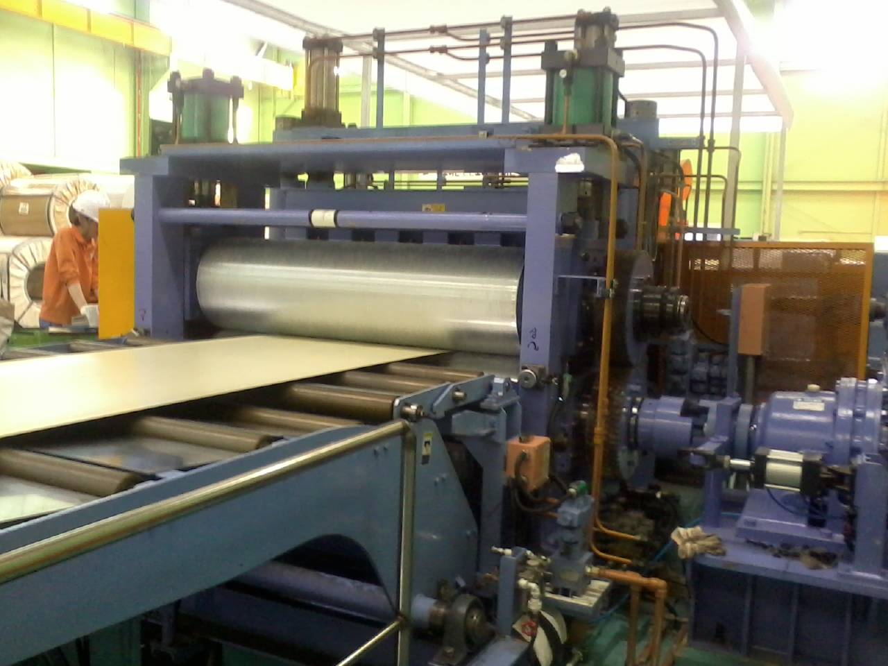 Color Coated Steel Embossing Machine