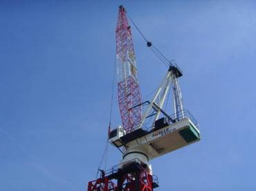 Used Tower Crane : Favco M440D