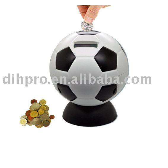 Football money saving box