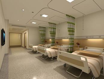 Hospital cubicle curtain with disposable and antibacterial