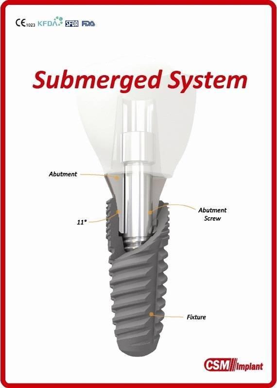 Dental Implant(Submerged System)
