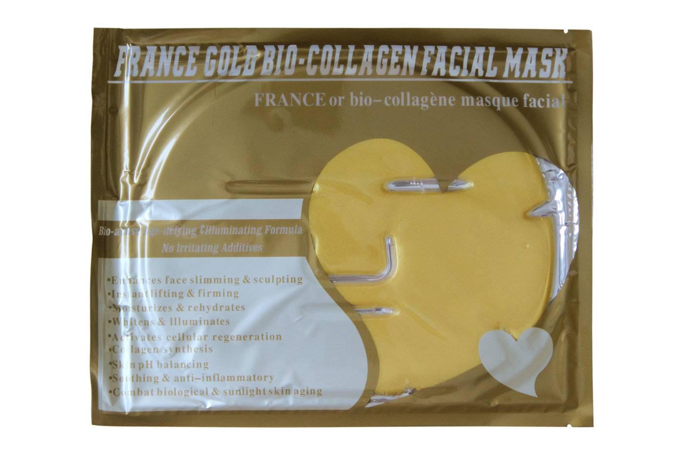 France Golden Collagen Face Mask