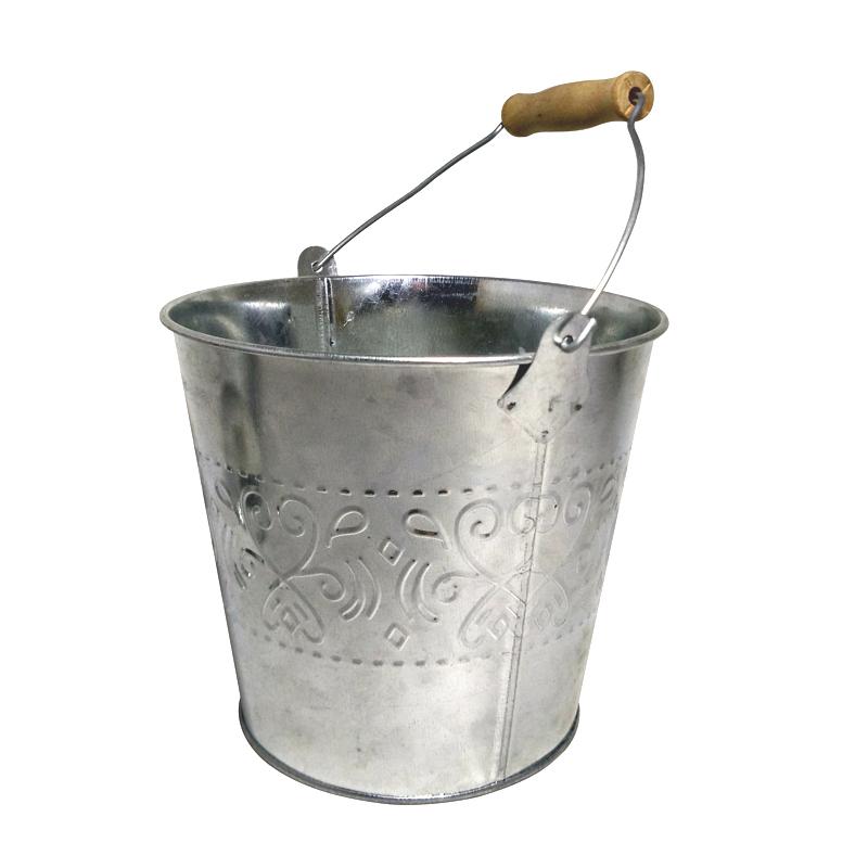 zinc galvanized sheet flower pot