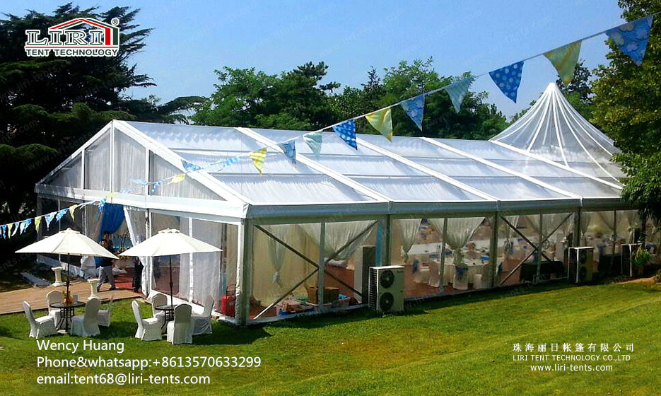 Sell Luxury Transparent Mixed Wedding Party Tent in Africa