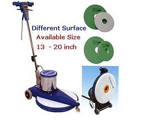 Polished machine cleaning floor pad melamine sponge