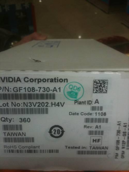 N12P-GS-A1/GF108-730-A1 BGA IC chipset, chip NVIDIA Freeshipping