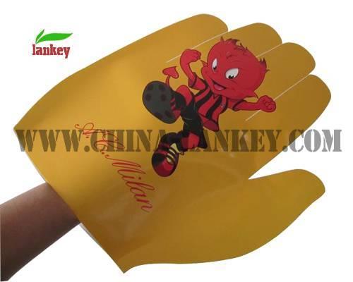 Advertising sport cheering gloves