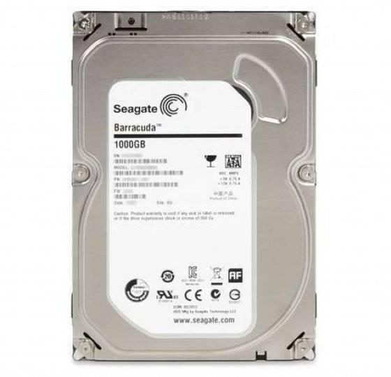 Seagate Barracuda Desktop 6Gb/S 1TB Internal Hard Drive Disk