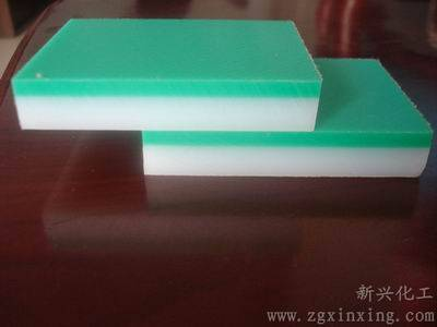 UHMWPE double color board