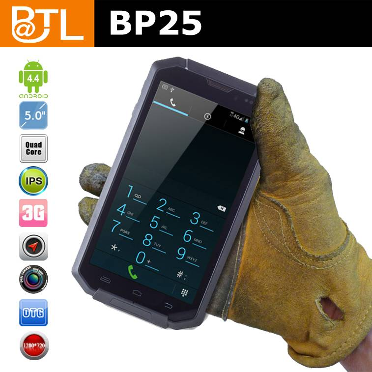 5 inch rugged phone Cruiser BP25/OGS smartphone android nfc