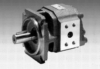 Rexroth A4VSO piston pump, Bosch PGF3 gear pump