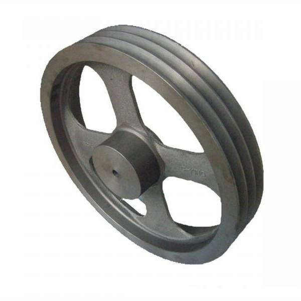 Casting Iron Mechanical Pully Wheel for Transmission