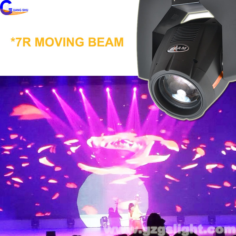 China Stage Moving Head Light 7R Sharpy 230W Beam Lighting
