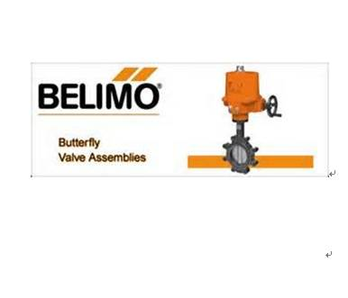 belimo butterfly valves