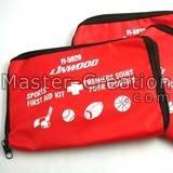 Red zipper bag first aid bag pet bag Needle bag Small zipper pouch Printed zip bag Cheap gift bag