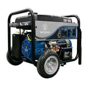 Westinghouse 7,500 Running-Watts, 9,000 Starting-Watts Gasoline Powered Electric Start Portable Gene
