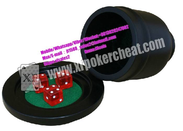 Plastic Dice Cup Of Casino Magic Dice See Through Dices For Gambling